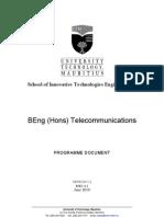 BEng (Hons) Telecommunications v1.2 June 2010