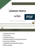 Company Profile - Reverie