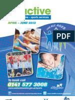 Be Active April - June 2012