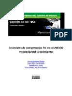 Est and Ares de Competencias TIC de La UNESCO y Sociedad Del Conocimiento