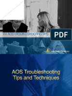 AOS Troubleshooting Tips March 25 2010