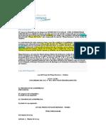 Resumen Ley Del Proyecto Playa Hermosa - Tumbes