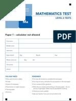 Ks2 Sats Maths 2011