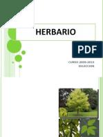 Herbario Para Alumnos 2012