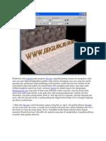 Pemberian Efek Material Pada Program 3ds Max Sangatlah Penting