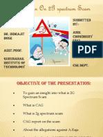 Presentation on 2g Scam