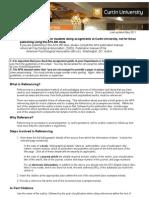 Apa (6th Edition) Referencing