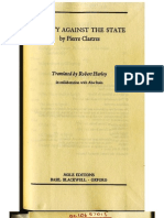 Clastres, Pierre--Society Against the State