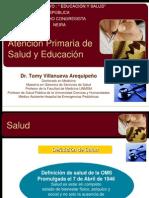 ATENCION PRIMARIA DE SALUD Y EDUCACIÓN