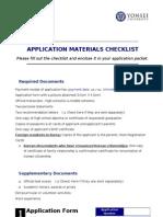 2012 UIC Application Form