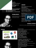 Andrew Vassallo - Curriculum - Web