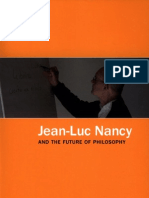 Jean Luc Nancy and the Future of Philosophy