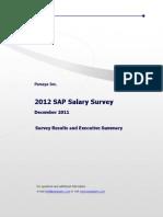 SAP Salary Survey 2012