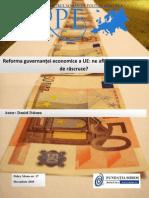 Daianu - Guvernanta economica