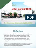 Baharuddin_Respectful Care at Birth
