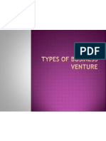 Types of Entrepreunerial Business