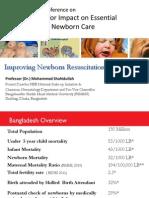 Shahidullah_Improving Newborn Resuscitation in Bangladesh