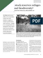 RefugesForStock & Biodiversity