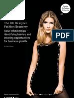 UK Designer Fashion Economy