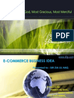 E-COMMERCE business idea