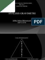 Analisis Gravimetri