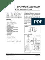 25AA080 Datasheet
