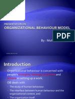 Presentation on OB Model