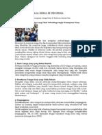 Permasalahan Tenaga Kerja Di Indonesia