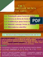 Cap 2-Macro-piata Fortei de Munca-salariul