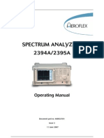 2394A 2395A Operating Manual