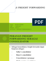 Tugas Freight Forwarding