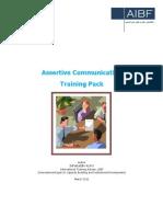 Assertiveness and Communication