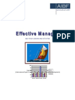 Effective Managing Training Pack