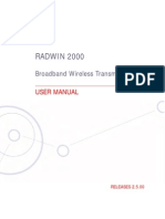 Radwin 2000 Manual