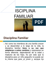 Disciplina Familiar