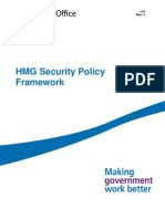 Hmg Security Policy 0 0