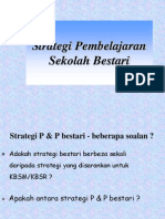 Strategi Pembelajaran Sekolah Bestari
