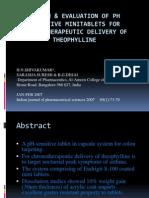 Design & Evaluation of pH Sensitive Mini Tablets For