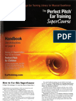 Perfect Pitch Ear Training Manual