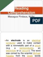 Electronika Reading Comprehension