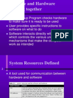 Chap3 -How Software & Hardware Working Together