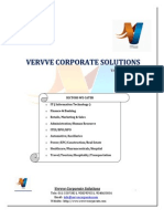 Recruitment Proposal-Vervve Corporate Solutions