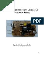 TSOP Based Obstacle Detector Sensor