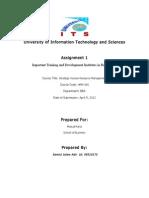 Important Training and Development Institutes in Bangladesh