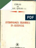 antropologia filosofica in-sistencial
