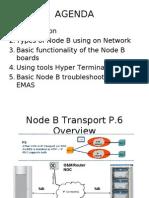 3G Node B (RBS) View