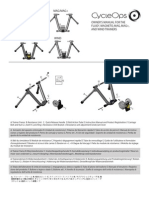 Cycle Ops Trainer Manual