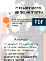Eight Planet Model of the Solar System