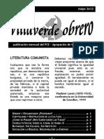 Villaverde Obrero - Número 11 - Mayo 2o12