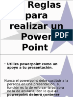 Power Point 10 Reglas